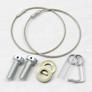 Caster Block Safety Wire Kit