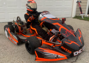 Ronnie Klys and his new IONIC Edge Chassis